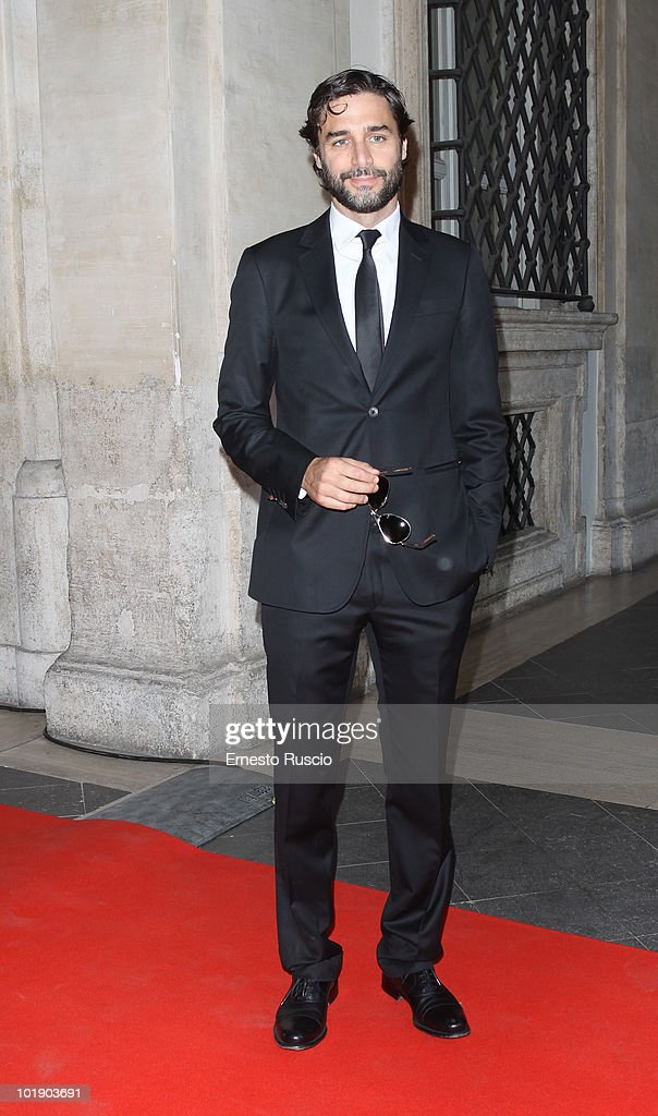 Daniele Pecci attends the 'Ciak D'Oro' awards ceremony on June 8, 2010 in Rome, Italy.