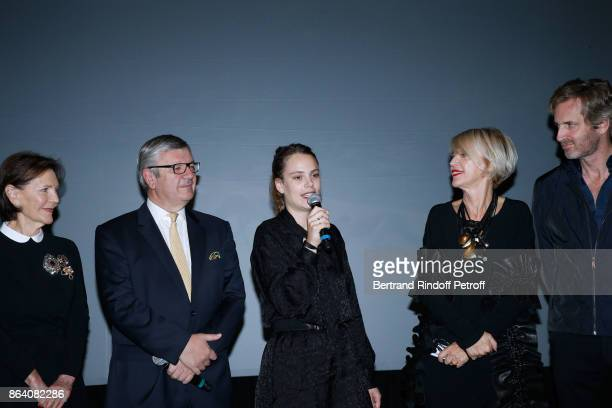Daniele Ricard President of the Ricard Foundation Philippe Savinel Laureate of the 19th Ricard Corporate Foundation Award Caroline Mesquita Director...