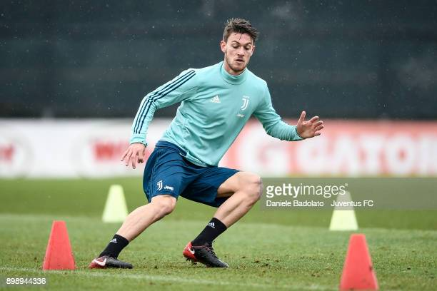 Daniele Rugani during a Juventus Training Session at Juventus Center Vinovo on December 27 2017 in Vinovo Italy