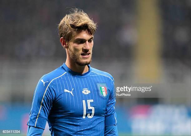 Daniele Rugani during the friendly match between Italia v Germania in Milan Giuseppe Meazza Stadio on November 15 2016