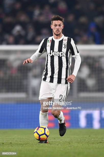 Daniele Rugani during the TIM Cup match between Juventus and Genoa CFC at Allianz Stadium on December 20 2017 in Turin Italy