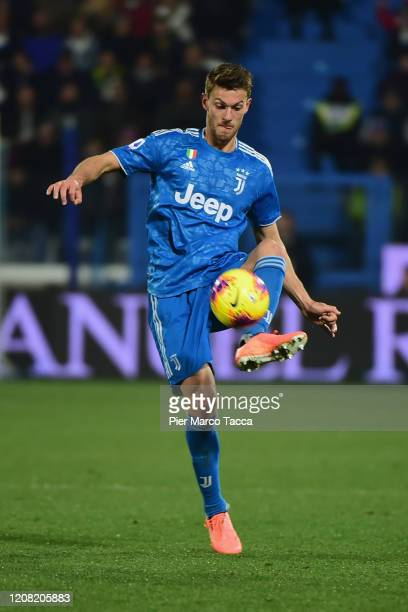 Daniele Rugani of Juventus during the Serie A match between SPAL and Juventus at Stadio Paolo Mazza on February 22 2020 in Ferrara Italy