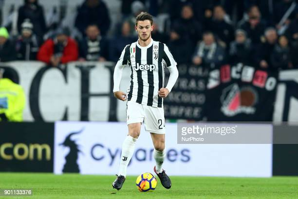 Daniele Rugani of Juventus during the TIM Cup match between Juventus and Torino FC at Allianz Stadium on January 3 2018