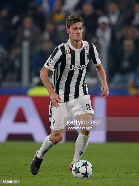 Daniele Rugani of Juventus during the UEFA Champions League match between Juventus v FC Barcelona at the Allianz Stadium on November 22 2017 in Turin...