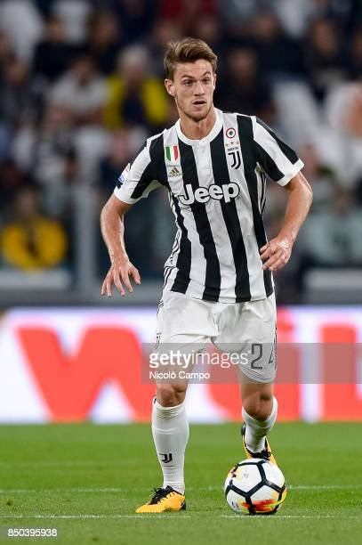 Daniele Rugani of Juventus FC in action during the Serie A football match between Juventus FC and ACF Fiorentina Juventus FC wins 10 over ACF...