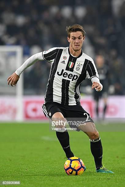 Daniele Rugani of Juventus FC in action during the Serie A match between Juventus FC and Pescara Calcio at Juventus Stadium on November 19 2016 in...