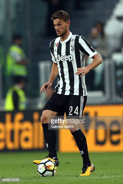 Daniele Rugani of Juventus FC in action during the Serie A match between Juventus and AC Chievo Verona on September 9 2017 in Turin Italy