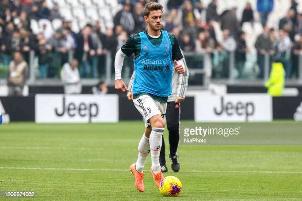 Daniele Rugani of Juventus FC is the first CoronavirusCOVID19 positive Serie A footballer on March11 2020 in Turin Italy The Juventus defender...