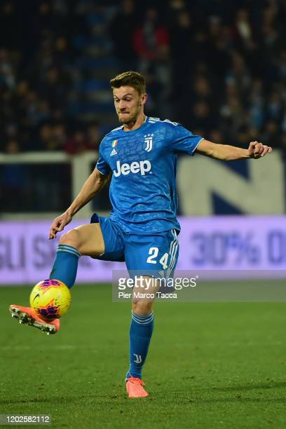 Daniele Rugani of Juventus in action during the Serie A match between SPAL and Juventus at Stadio Paolo Mazza on February 22 2020 in Ferrara Italy
