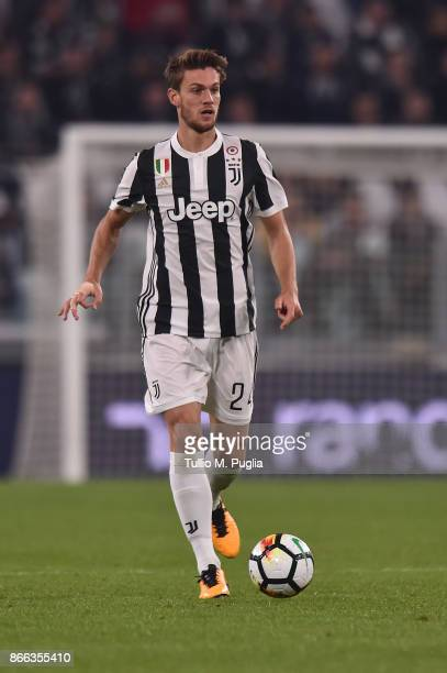 Daniele Rugani of Juventus in action during the Serie A match between Juventus and Spal on October 25 2017 in Turin Italy