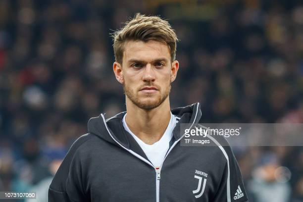 Daniele Rugani of Juventus looks on during the UEFA Champions League Group H match between BSC Young Boys and Juventus at Stade de Suisse Wankdorf on...