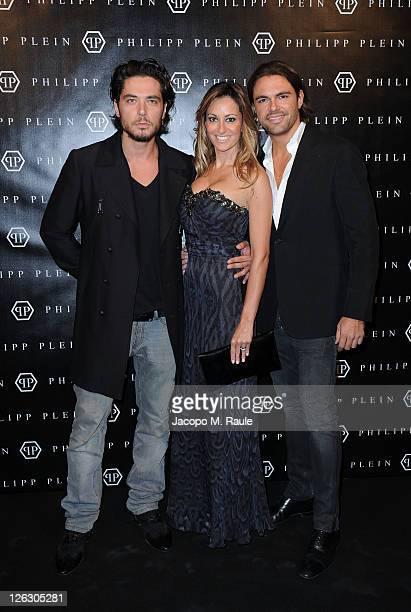Daniele Santoianni attends the Philipp Plein Urban Jungle Spring/Summer 2012 fashion show as part Milan Womenswear Fashion Week on September 24 2011...