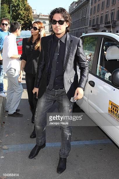 Daniele Santoianni is seen during Milan Fashion Week on September 22 2010 in Milan Italy