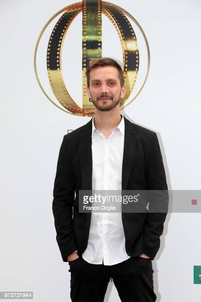 Daniele Stocchi attends Globi D'Oro awards ceremony at the Academie de France Villa Medici on June 13 2018 in Rome Italy