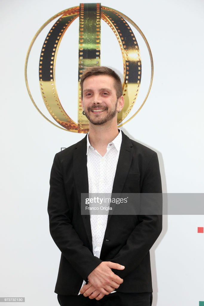 Daniele Stocchi attends Globi D'Oro awards ceremony at the Academie de France Villa Medici on June 13, 2018 in Rome, Italy.
