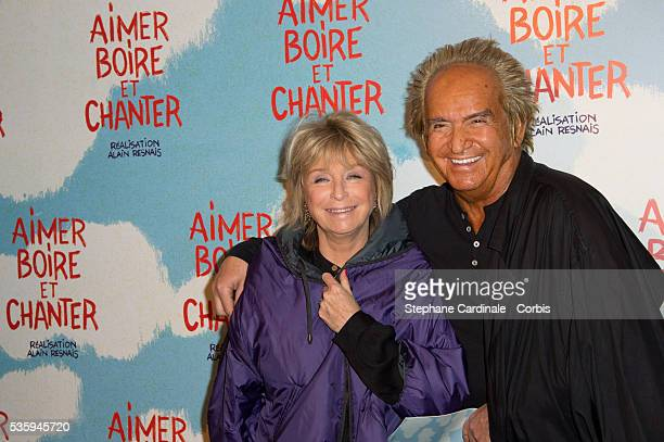 Daniele Thompson and Albert Koski attend the premiere of 'Aimer Boire et Chanter' in Paris