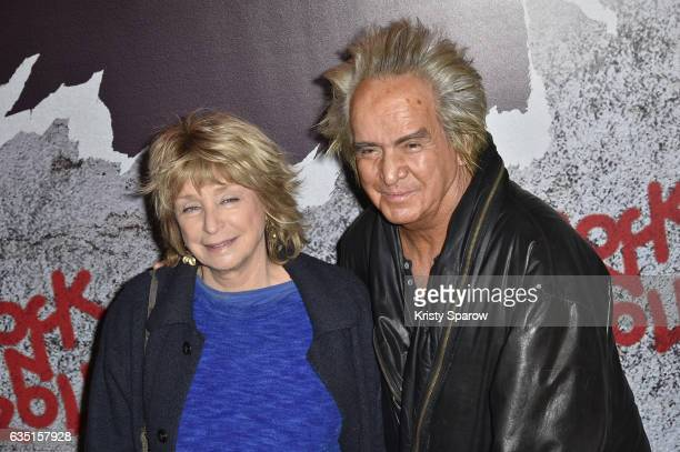 """Daniele Thompson and Albert Koski attend the """"Rock'N Roll"""" Premiere at Cinema Pathe Beaugrenelle on February 13, 2017 in Paris, France."""