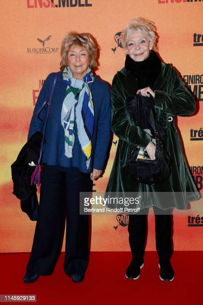 Daniele Thompson and Tonie Marshall attend the Nous finirons ensemble Premiere at Cinema Gaumont Capucines on April 29 2019 in Paris France