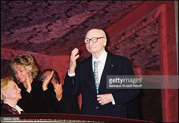 Daniele Thompson 'Michele Morgan' 'Gerard Oury' film screening of 'La Grande Vadrouille' at the Garnier opera