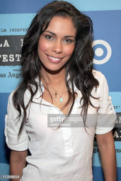 Daniella Alonso during 2006 Los Angeles Film Festival Snoop Dog's Hood of Horror Screening at Landmark Theater in Westwood California United States