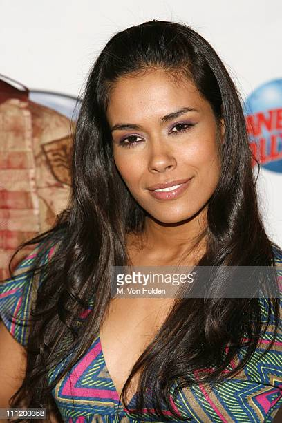 Daniella Alonso during Daniella Alonso Promotes The Hills Have Eyes 2 with Memorabilia Donation at Planet Hollywood at Planet Hollywood Times Square...