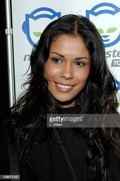 Daniella Alonso during Napster To Go Cafe Comes to Los Angeles with Free Digital Music and MP3 Player Giveaways at Napster To Go Cafe AKA Mel's...