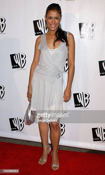 Daniella Alonso during The WB Television Network's 2005 All Star Party Arrivals at Warner Bros Studio in Burbank California United States