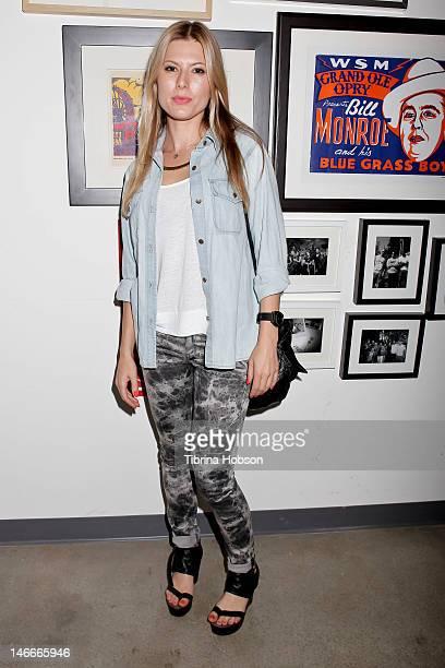 Daniella attends the Jingle Punks west coast launch on June 21, 2012 in Santa Monica, California.
