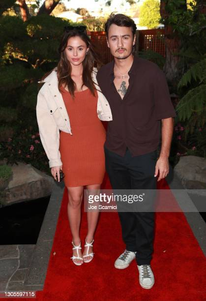 """Daniella Beckerman and Brandon Lee attend a private event with the cast of MTV's """"The Hills"""" hosted by Cure Addiction Now & The Red Songbird..."""