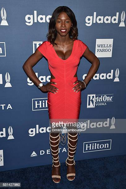 Daniella Carter attends the 27th Annual GLAAD Media Awards in New York on May 14 2016 in New York City