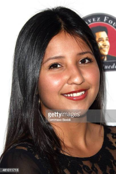 Daniella Chavez attends the Cesar Chavez Foundation's 2014 Legacy Awards Dinner held at the Millennium Biltmore Hotel on March 27, 2014 in Los...