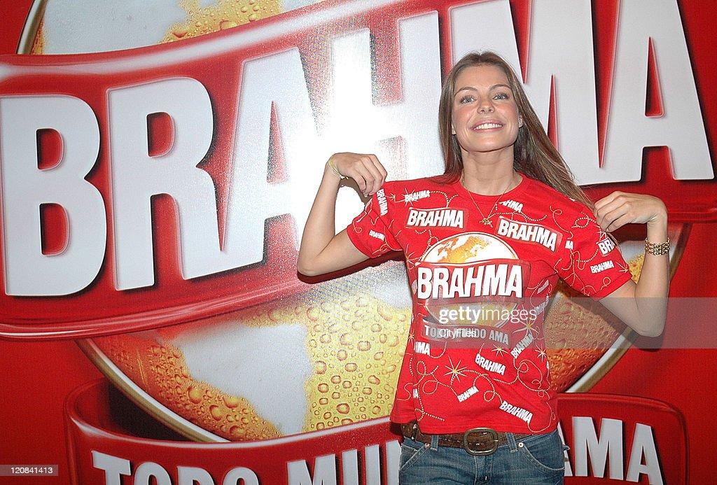 Daniella Cicarelli, The Face of Brahma Beer for Rio Carnival 2007 : News Photo