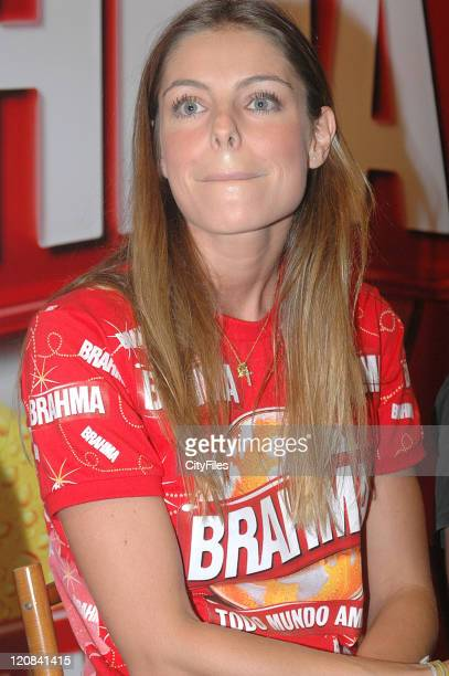 Daniella Cicarelli during Daniella Cicarelli The Face of Brahma Beer for Rio Carnival 2007 in Rio de Janeiro Brazil