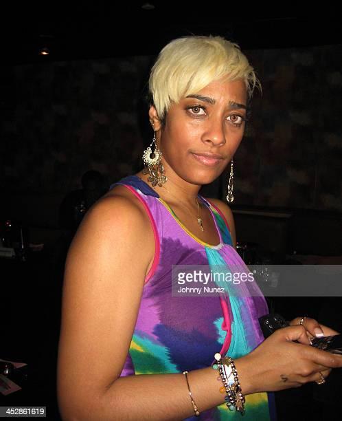 Daniella Cobb attends TK Kirkland's birthday party at Promenade on April 1 2009 in New York City