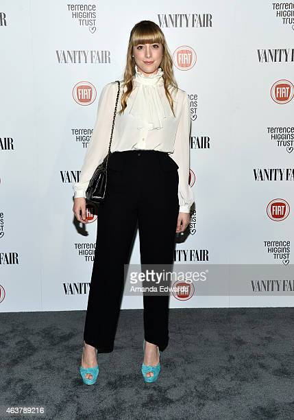 Daniella Garcia arrives at the Vanity Fair and Fiat Toast to Young Hollywood in support of the Terrence Higgins Trust at No Vacancy on February 17...