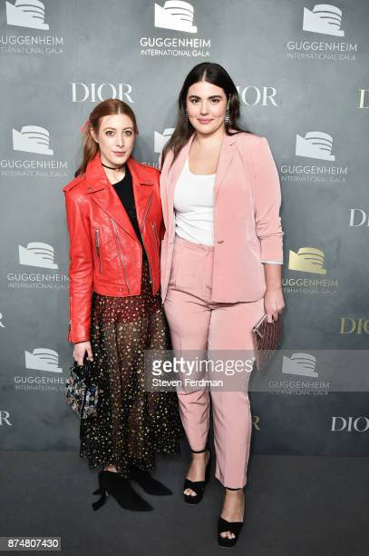 Daniella GarciaLorido and Alessandra GarciaLorido attend the 2017 Guggenheim International Gala PreParty made possible by Dior on November 15 2017 in...