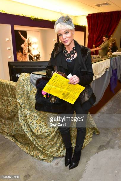 Daniella Landelius attends Spring Break Art Fair 2017 Vernissage at 4 Times Square on February 28 2017 in New York City