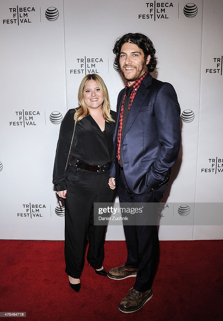 Daniella Liben and Adam Pally attend the 2015 Tribeca Film Festival - World Premiere Narrative: 'Slow Learners' at Regal Battery Park 11 on April 20, 2015 in New York City.