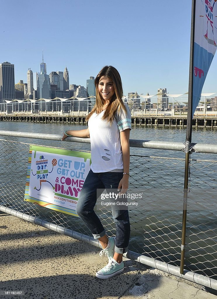 Daniella Monet attend the Nickelodeon And Brooklyn Bridge Park Host Mini-Triathlon on September 19, 2013 in New York City.
