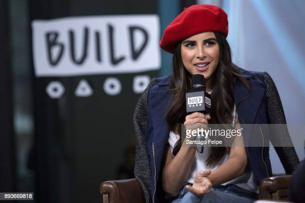 Daniella Monet attends Build Presents to discuss 'Paradise Run' at Build Studio on December 15 2017 in New York City