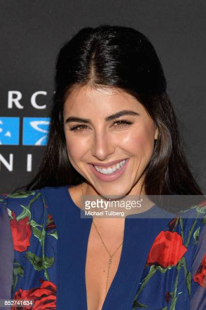 Daniella Monet attends Mercy For Animals' annual Hidden Heroes Gala at Vibiana on September 23 2017 in Los Angeles California