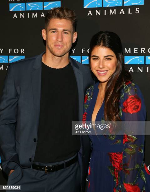 Daniella Monet attends the Mercy For Animals' Annual Hidden Heroes Gala on September 23 2017 in Los Angeles California