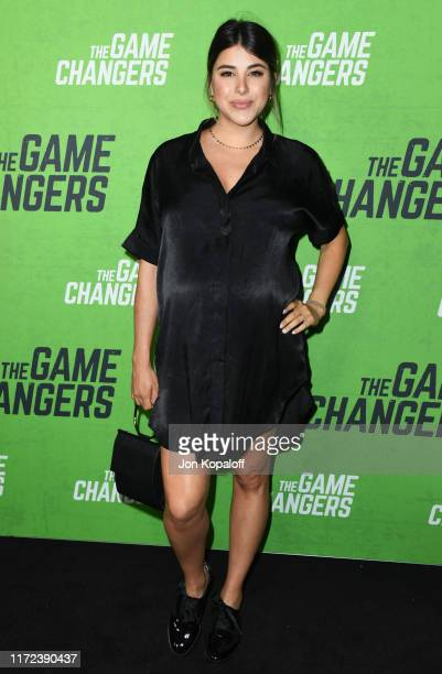 Daniella Monet attends the LA Premiere Of The Game Changers at ArcLight Hollywood on September 04 2019 in Hollywood California