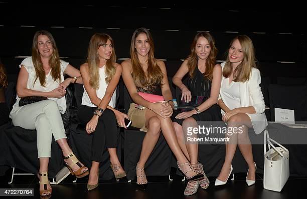 Daniella Ospino and Esmeralda Moya attend the Rosa Clara fashion show at Barcelona Bridal week 2015 on May 5 2015 in Barcelona Spain