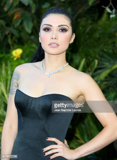 Daniella Pineda attends the premiere of Universal Pictures and Amblin Entertainment's Jurassic World Fallen Kingdom on June 12 2018 in Los Angeles...