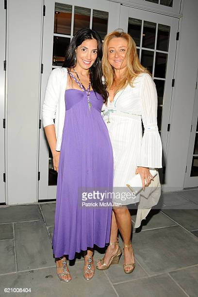 Daniella Rich Kilstock and Caroline Berthet attend A Taste of the Good Life with BEST LIFE Sunset Cocktail Party at The Villency Residence on August...
