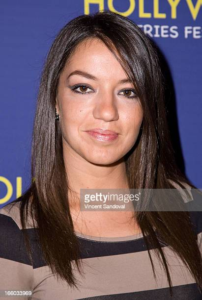 Daniella Rincon attends the 2nd annual HollyWeb Festival at Avalon on April 7 2013 in Hollywood California