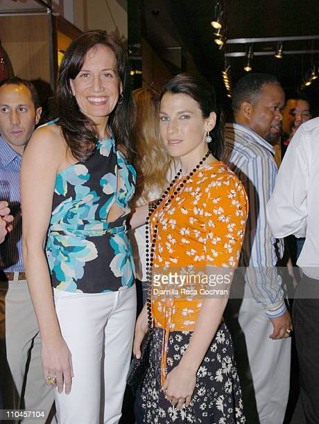 Daniella Vitale and Jessica Seinfeld during Gucci Celebrates The Opening of The New East Hampton Store - June 3, 2006 at Gucci Store in East Hampton,...