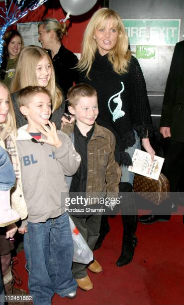 Daniella Westbrook and guests during Scooby Doo Halloween Party at Rex Cinema in London Great Britain
