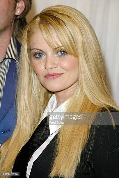 Daniella Westbrook during 'Hell's Kitchen' Party May 23 2004 at Bricklane in London United Kingdom